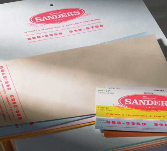 Bold Creative Agency Auckland: Sanders Print Design